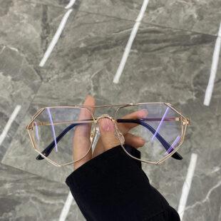 抗藍光金屬多邊形鏡框